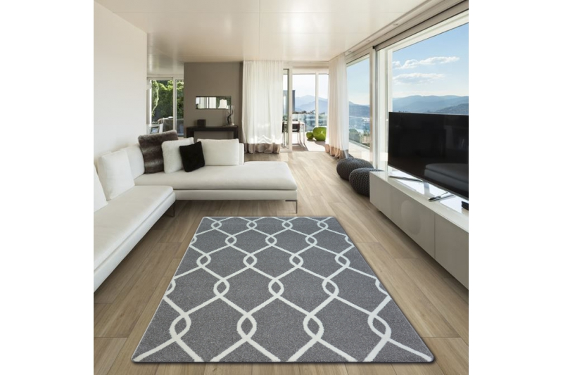 teppich grau wei gestreift affordable babyzimmer grau streifen for bad designs marke wonderful. Black Bedroom Furniture Sets. Home Design Ideas
