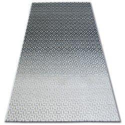 Teppich LISBOA 27208/356 Structural Schwarz Grau