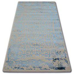 Teppich ACRYL MANYAS 0920 Elfenbein/Blau