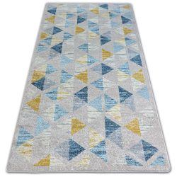 Teppich NORDIC CANVAS gelb G4575