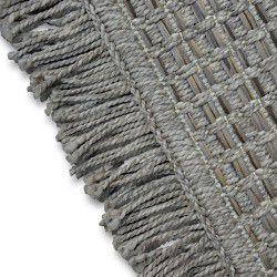 Teppich BOHO 46215/051 SISAL - beige kariert Quasten