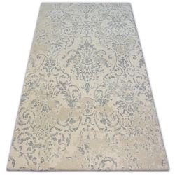 Teppich Wolle NATURAL PRIENE sahne