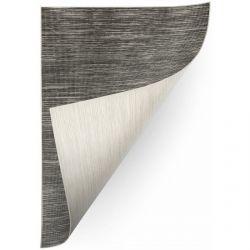 Teppich Doppelseitiges DOUBLE 29201/095 graphit melange/beige melange