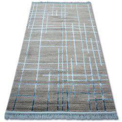 Teppich ACRYL MANYAS 191AA Grau/Blau Franse