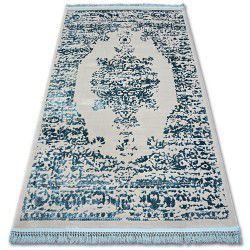 Teppich ACRYL MANYAS 192AA Grau/Blau Franse