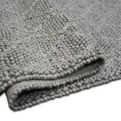 Teppich Hills Wolle 93520 Silber