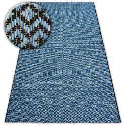 Teppich LOFT 21144 schwarz/silber/blau