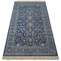Teppich WINDSOR 22935 dunkel blau - Blumen