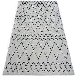 Teppich SENSE 81249 weiß/blau