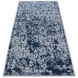 Teppich SENSE 81260 weiß/blau