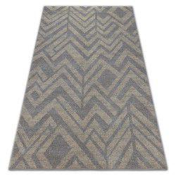 Teppich SOFT 8028 Hellbraun/Hellbeige