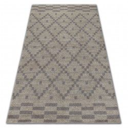 Teppich SOFT 8047 Sahne/Hellbraun