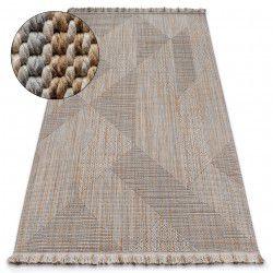 Teppich NATURE SL110 beige franse SIZAL BOHO