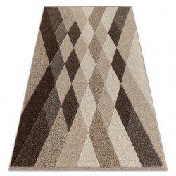 Teppich FEEL 5674/15055 DIAMANTEN beige / braun / creme