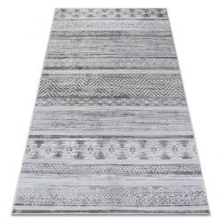 Teppich NOBIS 84245 silber - ZICKZACK