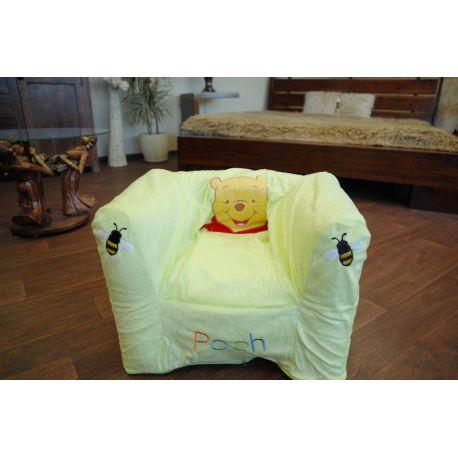 Aufblasbare Stuhl DISNEY KUBUŒ PUCHATEK grün