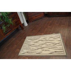 Teppich NATURAL CORBI dunkel beige