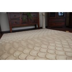 Teppich NATURAL CUERO beige