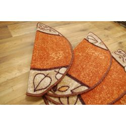 Treppenteppich LEANDRO Terrakotta