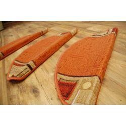 Treppenteppich JENA Terrakotta