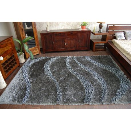 Teppich SHAGGY MYSTERY 0118 grau