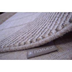 Teppich NATURAL LAGO F cremig