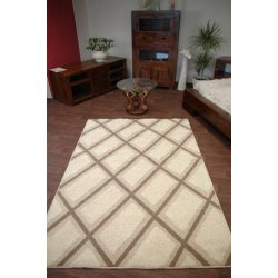 Teppich STRUCTURAL CRIS cremig
