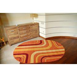 Teppich oval RUBIKON 8204 orange