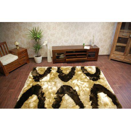 Teppich SHAGGY POLIESTER INDIE 1071 beige / braun