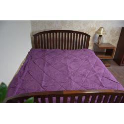 Overlay ALKANTARA violett
