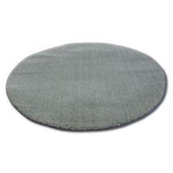 Teppich Kreis SHAGGY MICRO grün