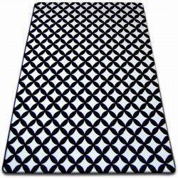 Teppich SKETCH - F757 weiß/schwarz - Diamant