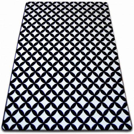 Teppich SKETCH - F757 weiß/schwarz