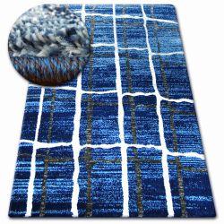 Teppich SHADOW 9359 blau / weiß