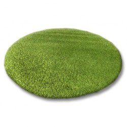 Teppich rund SHAGGY 5cm grün