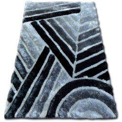 Teppich SHAGGY SOFT - 3D TY131 grau
