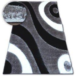 Teppich Shaggy SPACE 3D B314 grau