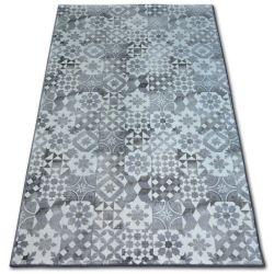 Teppich Teppichboden MAIOLICA grau