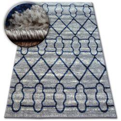 Teppich SHADOW 9496 hellgrau / weiß
